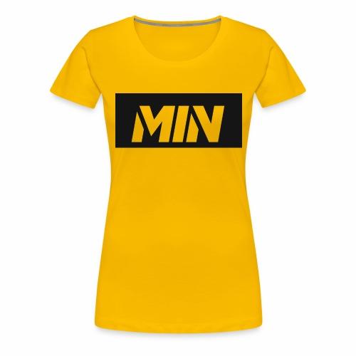 MIN Products for fans - Women's Premium T-Shirt