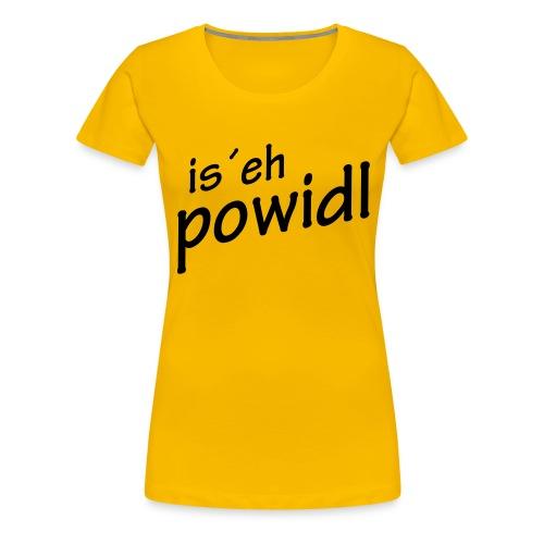 powidl - Frauen Premium T-Shirt