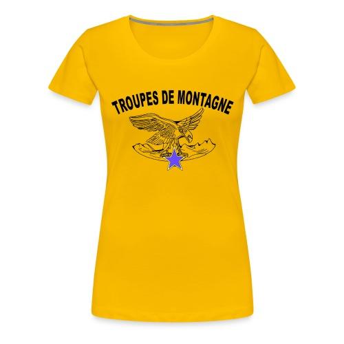 choucasTDM dos - T-shirt Premium Femme