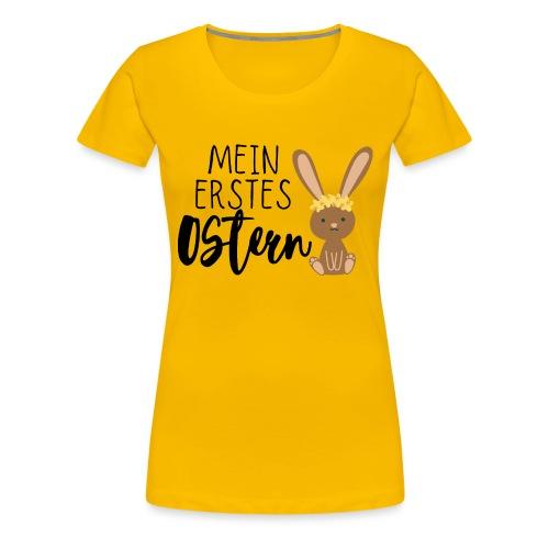 Mein erstes Ostern - Frauen Premium T-Shirt