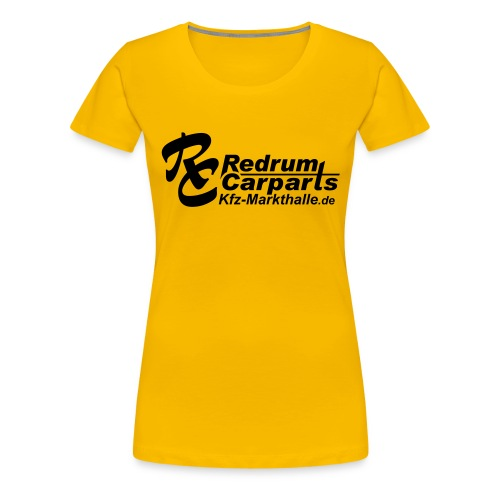 Logo-aermel-4 - Frauen Premium T-Shirt