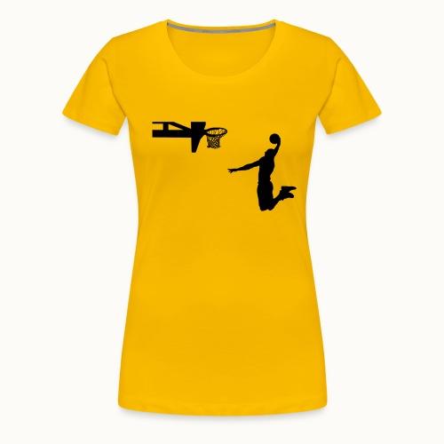 Dunking - Frauen Premium T-Shirt