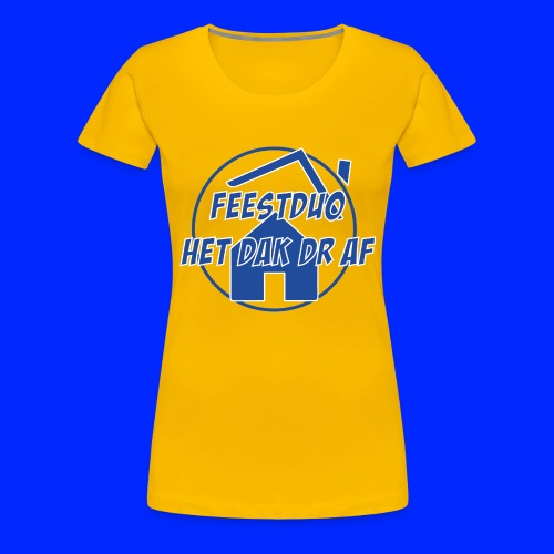 Simpel logo - Vrouwen Premium T-shirt