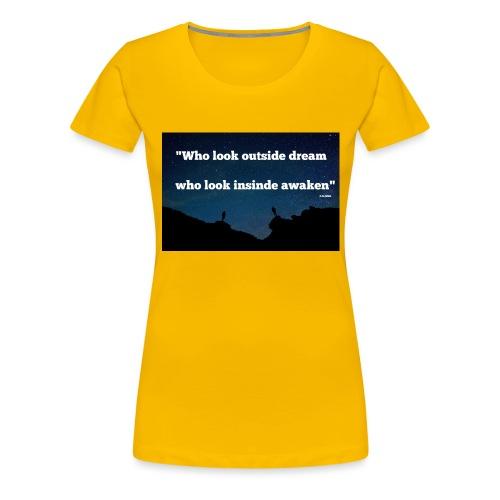 Look inside - T-shirt Premium Femme