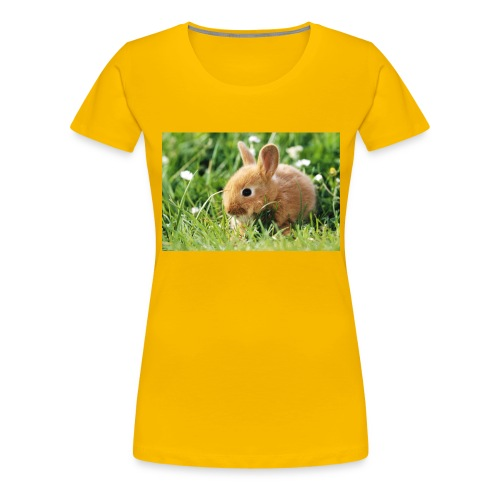 SWEET RABBIT - Premium-T-shirt dam