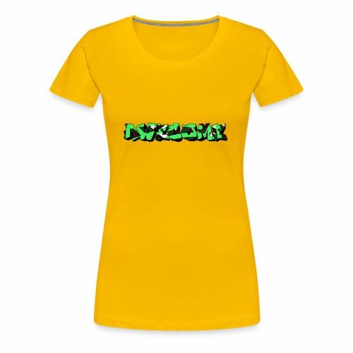 awesome camo - Vrouwen Premium T-shirt