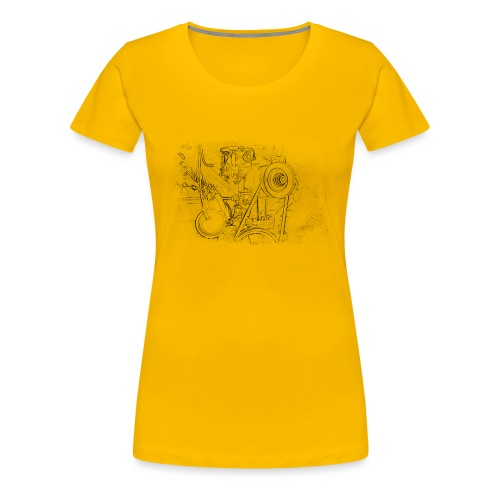 Boxer Motor - Frauen Premium T-Shirt