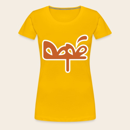 DAPE LOGO - Maglietta Premium da donna