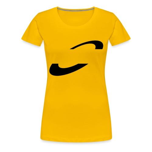 Planet Cycling Icon Black - Women's Premium T-Shirt