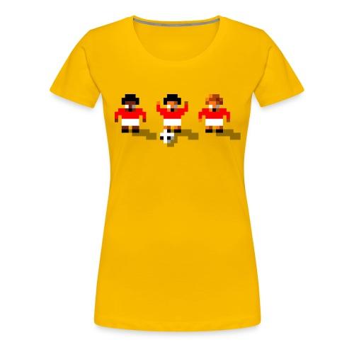 Soccer Red Team - Women's Premium T-Shirt