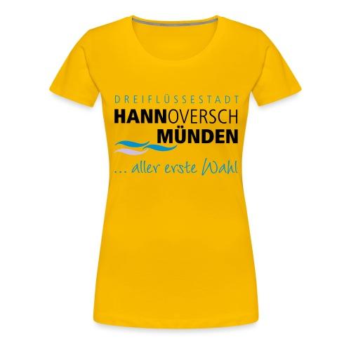 Hann. Münden Logo - Frauen Premium T-Shirt