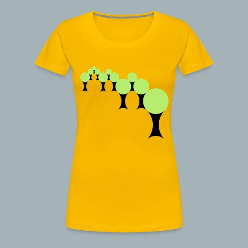 Golden Rule Premium T-shirt - Vrouwen Premium T-shirt