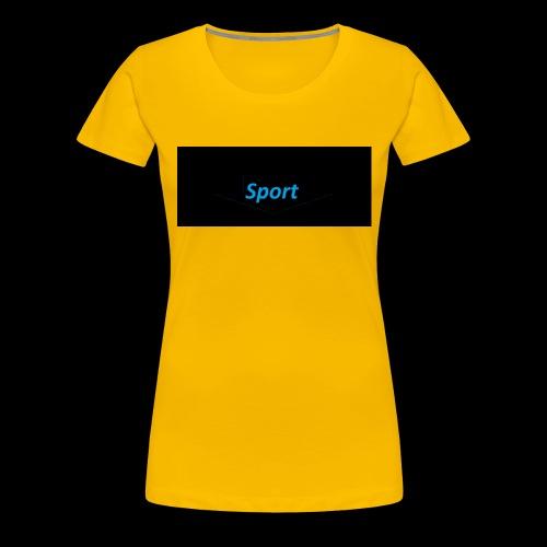 sport merch - Frauen Premium T-Shirt