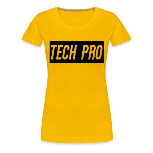 Tech Pro Official Logo - Women's Premium T-Shirt