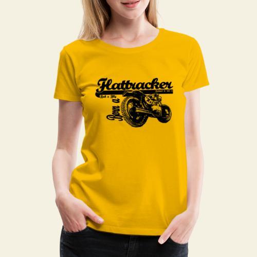 flattracker - Dame premium T-shirt