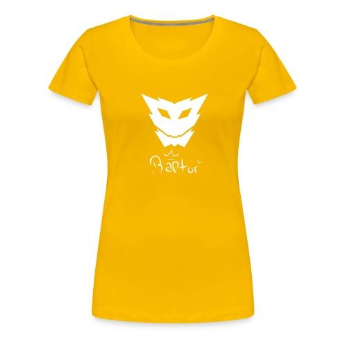 Raptor mit logo - Frauen Premium T-Shirt