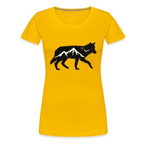 Adventurer Logo - Premium T-skjorte for kvinner