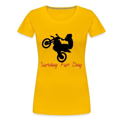 Sunday funday 3 - T-shirt Premium Femme