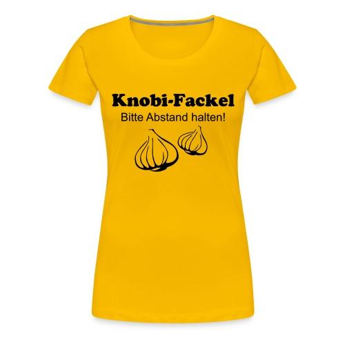 Knobifackel - Frauen Premium T-Shirt