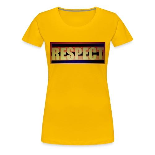 RESPECT - Women's Premium T-Shirt