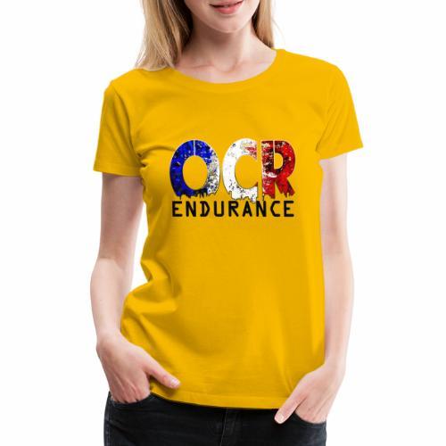 Logo OCR Endurance Noir - T-shirt Premium Femme