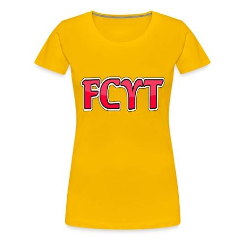 FungiCraftYT - Women's Premium T-Shirt