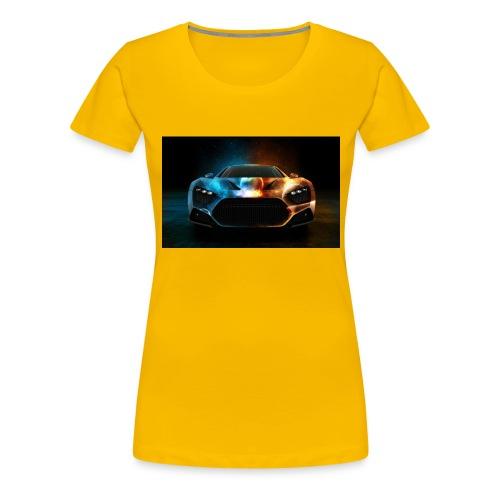 car - Women's Premium T-Shirt