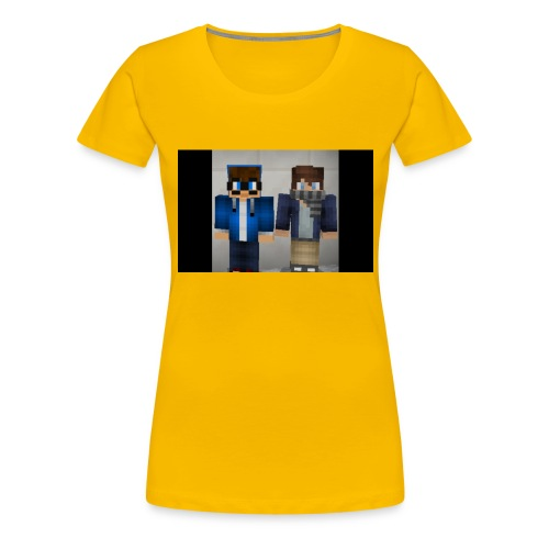 FF GAMING - Premium-T-shirt dam