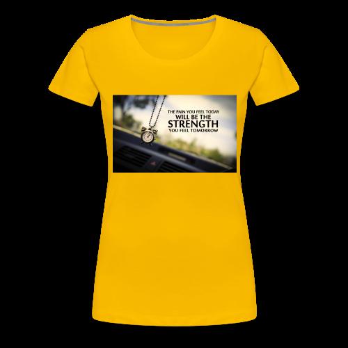 Amazing Inspirational Quote - Premium-T-shirt dam