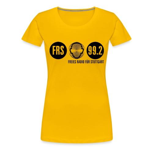 Logo FRS schwarz - Frauen Premium T-Shirt