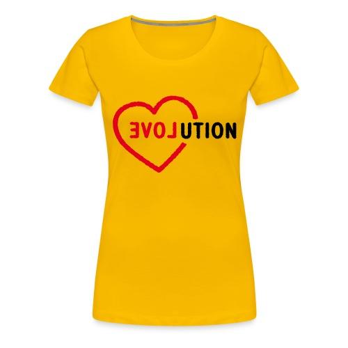 evolution by Punktzebra brands - Frauen Premium T-Shirt