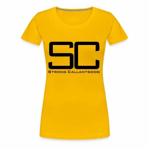 concept SC zwart png - Vrouwen Premium T-shirt
