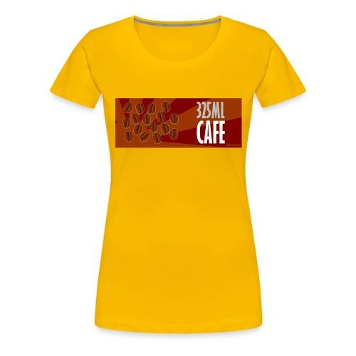 325 ml café - #HDC - T-shirt Premium Femme