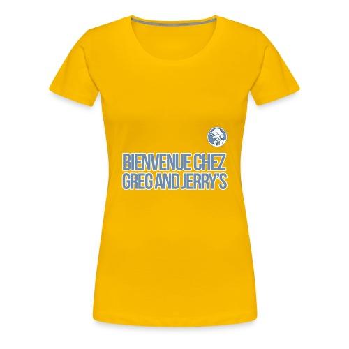 bienvenue polo - T-shirt Premium Femme