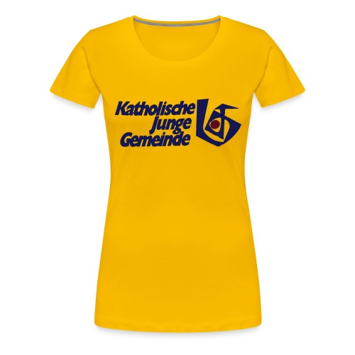 kjgoldschool - Frauen Premium T-Shirt