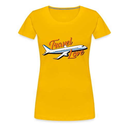 Travel love Air - Camiseta premium mujer