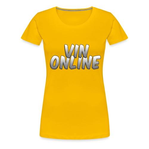 VinOnline T;shirt - Vrouwen Premium T-shirt