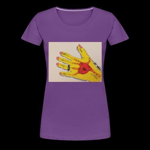 9D8D600F D04D 4BA7 B0EE 60442C72919B - Dame premium T-shirt