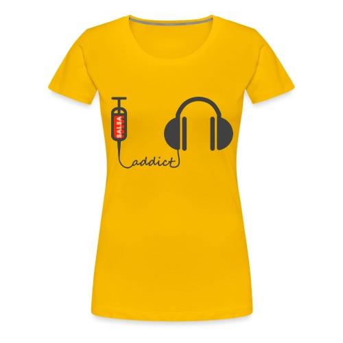 Salsa addict - Frauen Premium T-Shirt