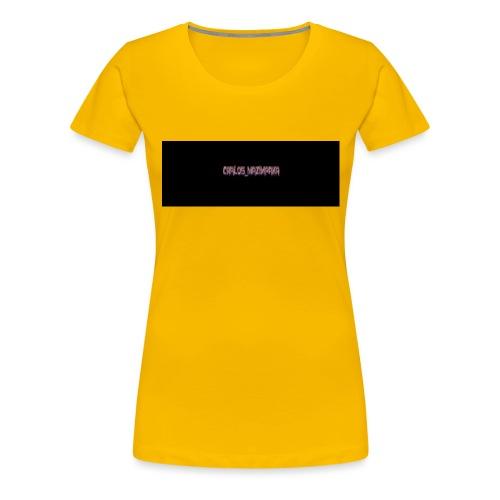 carlos - T-shirt Premium Femme