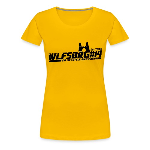 2572283 16164703 wlfsbrg14 2 orig - Frauen Premium T-Shirt