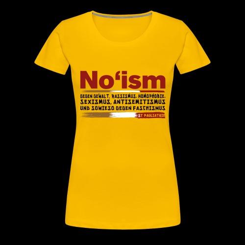 St. Pauliatrie No'ism - Frauen Premium T-Shirt