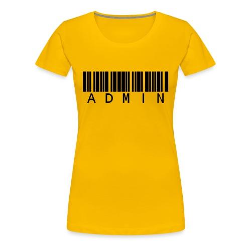 Administrator in Schwarz - Frauen Premium T-Shirt