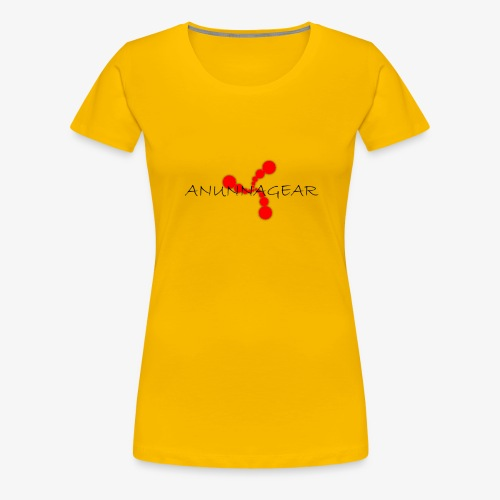 Anunnagear brand logo - Vrouwen Premium T-shirt