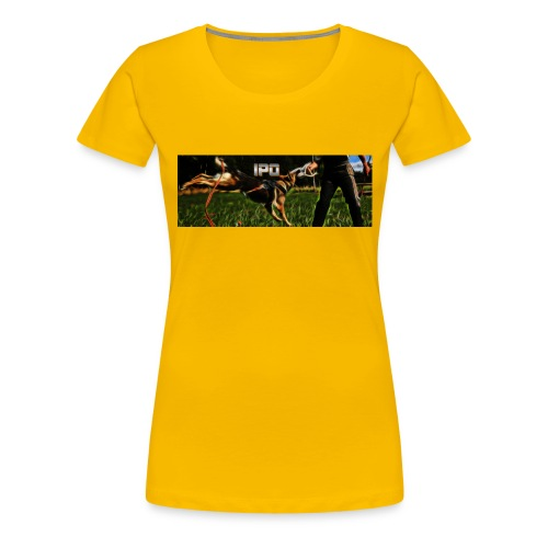 ipo - Premium-T-shirt dam