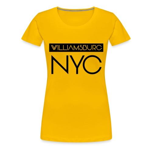 williamsburg - Women's Premium T-Shirt