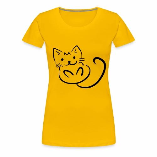 Kitten - Maglietta Premium da donna