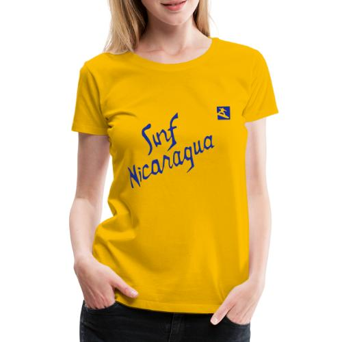 Surf Nicaragua Val Kilmer Chris Knight - Women's Premium T-Shirt