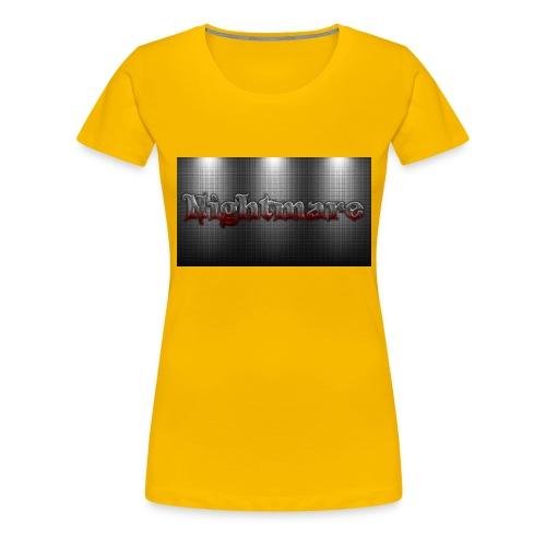 nightmare - Women's Premium T-Shirt