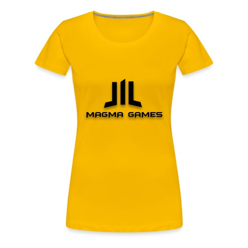 Magma Games kussen - Vrouwen Premium T-shirt
